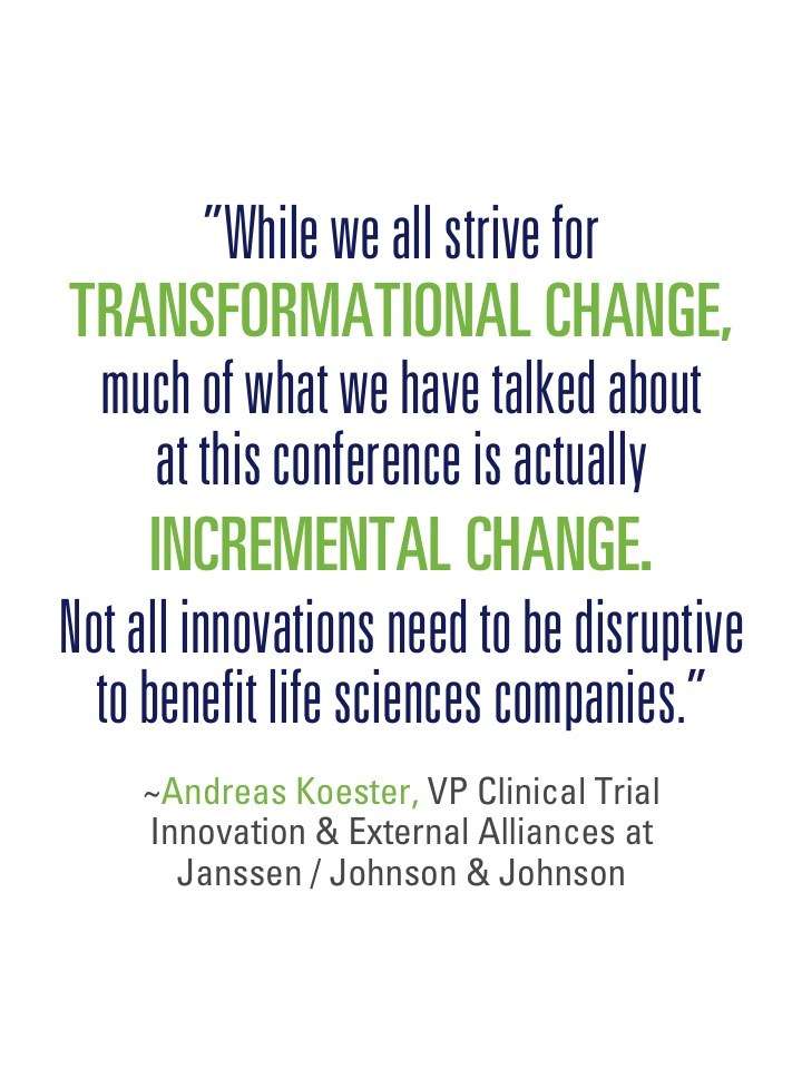 Transformational - incremental change