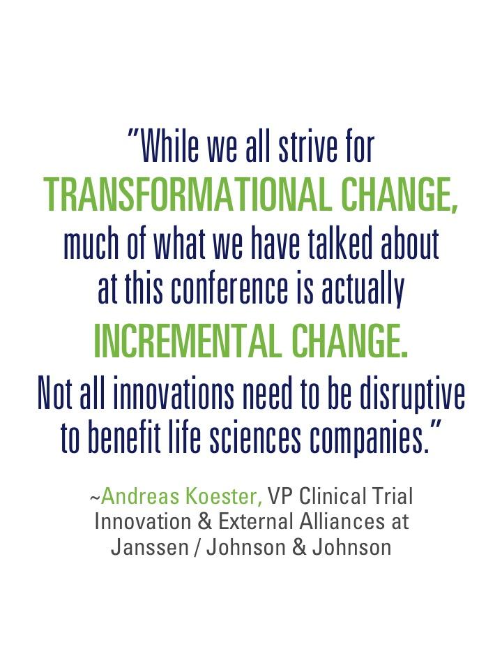 Transformational - incremental change
