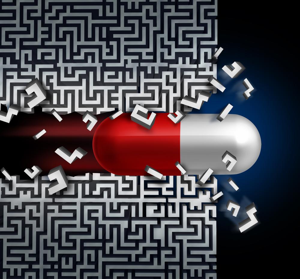Pill Disrupting Maze