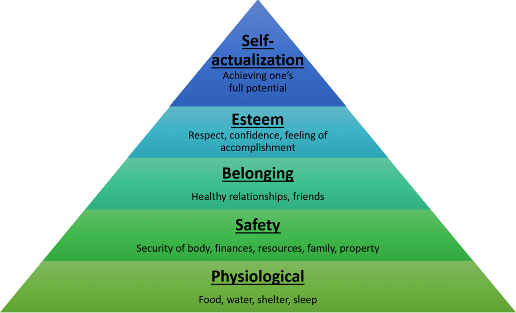 wellness maslow healthcare christenseninstitute