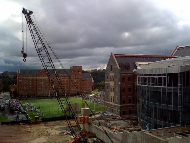campus construction_Higher Education_ChristensenInstitute