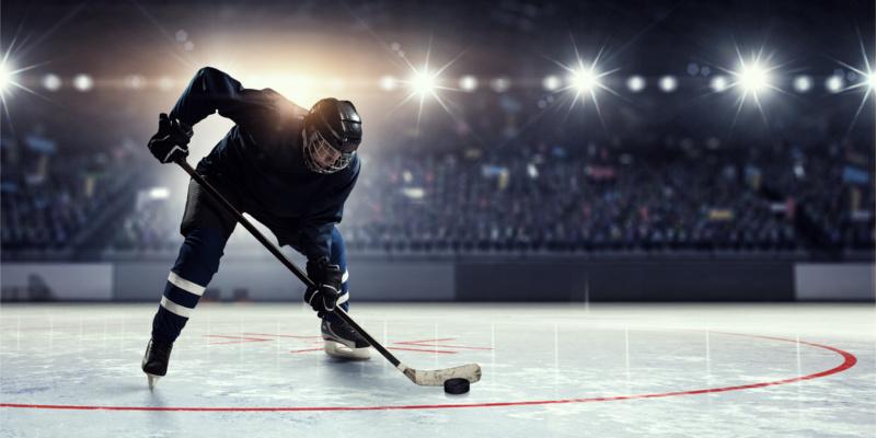 CVS Aetna hockey skating score