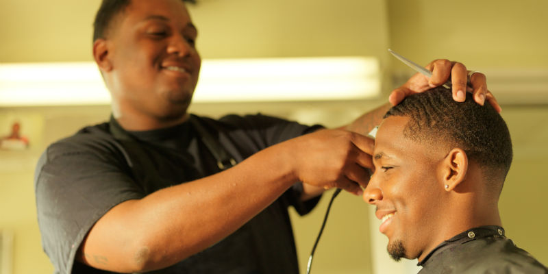 In this innovative program, barbers cut hair and health risks ...